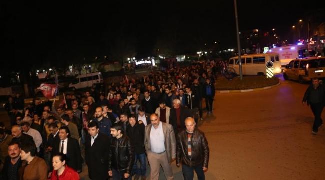 Alıcık 5 bin kişi ile yürüdü hedef 40 bin kişi