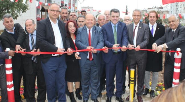 Aliya İzzetbegoviç Parkı Efeler'de hizmete açıldı
