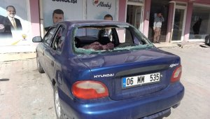 Başkent'te AK Parti Seçim Bürosuna saldırı