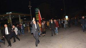 Cumhur İttifakı, Nazilli'de ilk büyük yürüyüşünü gerçekleştirdi
