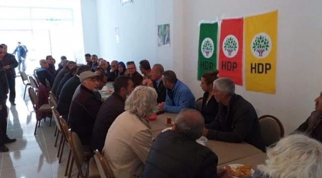 Deniz Atabay'in HDP ziyareti Didim'de CHP'lileri bile isyan ettirdi