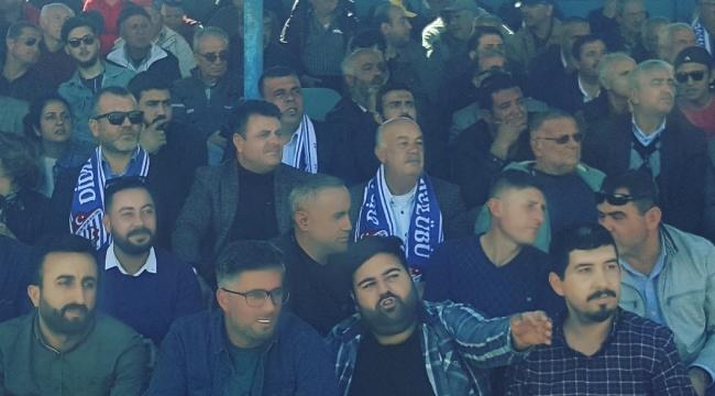 DİDİM BELEDİYESPOR MAÇIN'DA ATABAY'A ŞOK