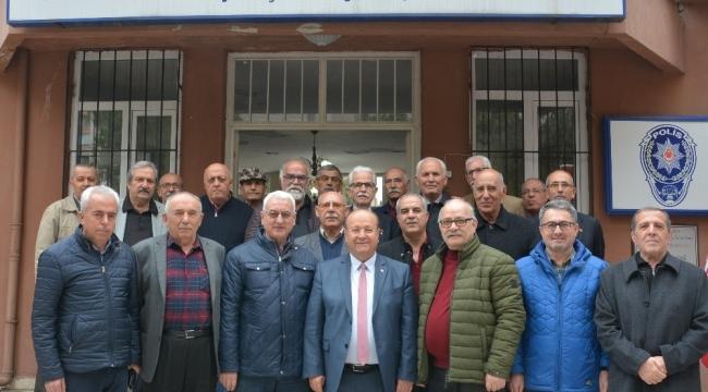 Özakcan Türkiye Polis Emeklileri Derneğini ziyaret etti