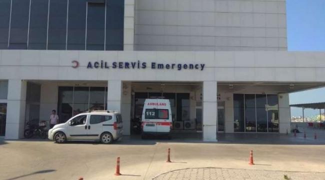 Aydın'da bir kadın silahla vuruldu
