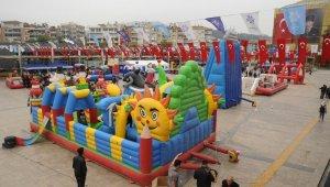 Aydınlı çocuklar 23 Nisan'da eğlenceye doyacak