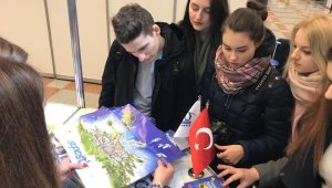 Kuşadası Ticaret Odası Minsk Turizm Fuarı'na katıldı