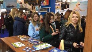 Kuşadası Ticaret Odası, Ukrayna Uluslararası Turizm Fuarı'na katıldı