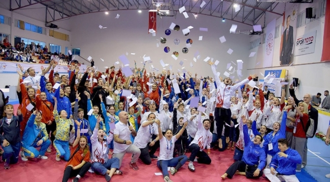 Nazillili Taekwondocu Ege Gezgin Avrupa ikincisi oldu