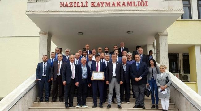 Nazilli'nin yeni Başkanı Özcan'dan birlik mesajı