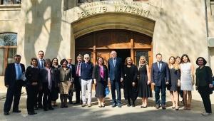ADÜ Öğretim Üyeleri, Azerbaycan'da halk sağlığı seminerine katıldı