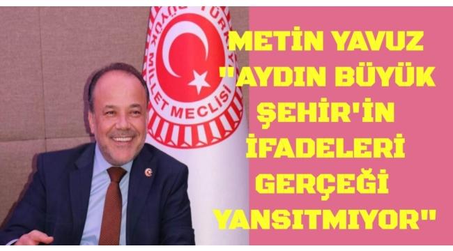 AK PARTİ'Lİ YAVUZ