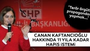 CHP İl Başkanıhakkında 11 yıla kadar hapis istendi