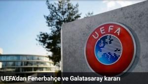 Fenerbahçe'ye UEFA'dan kötü haber