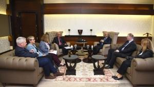 İngiltere Büyükelçisi'nden Vali Köşger'e ziyaret