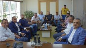 AK Parti Aydın Milletvekili Savaş KUTO'ya ziyaret etti