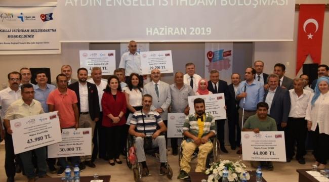 Aydın'da 17 engelli ve eski hükümlüye hibe desteği sağlandı