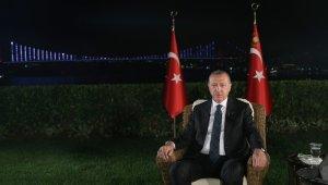 """Cumhurbaşkanı Erdoğan: """"Öcalan dağa ve Demirtaş'a mesaj veriyor"""""""