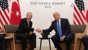 Cumhurbaşkanı Erdoğan ve ABD Başkanı Trump arasında önemli görüşme