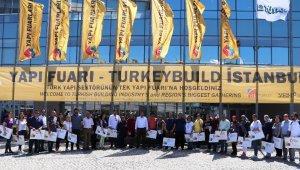 Nazilli Ticaret Odası, İstanbul Yapı Fuarına katıldı