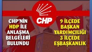 Skandal...CHP'nin HDP'ye vaatlerinin belgesi bulundu