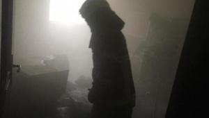 Aydın'da öğrenci yurdunda yangın 6 öğrenci ölümden döndü