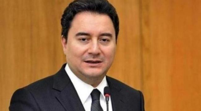 Beklenen oldu. Ali Babacan AK Parti'den istifa etti