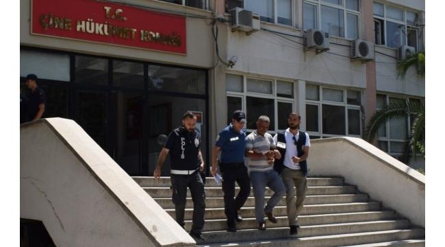 Çine'de hırsızlıktan araması olan iki kişi yakalandı