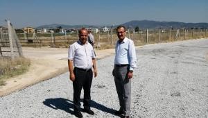 Mustafa Savaş, Yeniköy'ün yol sorununu çözdü