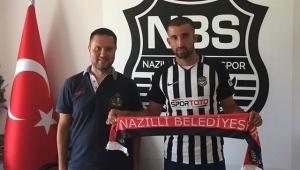 Nazilli Belediyespor, Erbaaspor'dan forvet oyuncusu Yunus Ünsal'ı kadrosuna kattı
