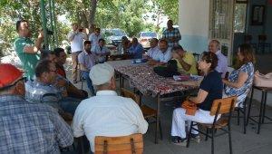 Söke Tarım Müdürlüğü ile Söke Belediyesinden mera çalışması