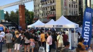 Uğur Soğutma, Antalyalılar'la buluştu