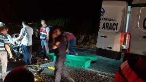 Aydın'da trafik kazası: 1 ölü 3 yaralı