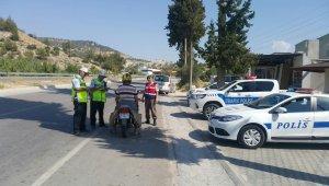 Aydın polisi vatandaşın huzur için bayramda görevi başında olacak