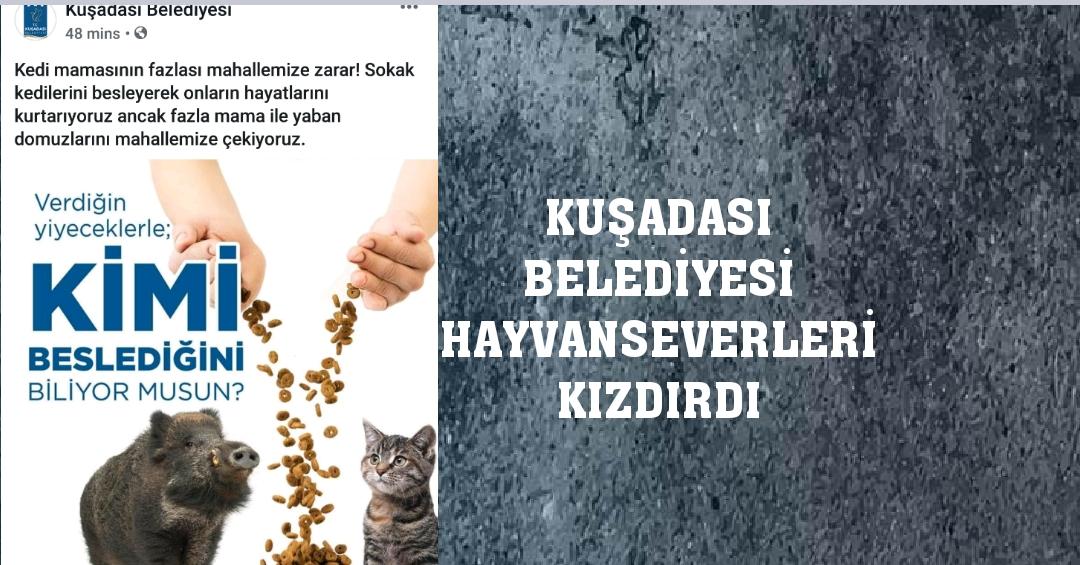 KUŞADASI BELEDİYESİ ÖYLE BİR PAYLAŞIM YAPTI Kİ..