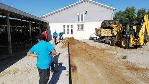 Nazilli'de Kurban Bayramı sonrası hijyen temizliği yapıldı