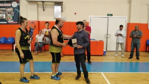 3. Efeler Tekerlekli Sandalye Basketbol turnuvası sona erdi.