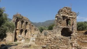 Aydın antik kentteki sütunlu cadde gün yüzüne çıkıyor