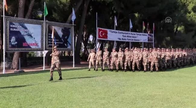 Aydın'da bin 108 bedelli asker ant içti