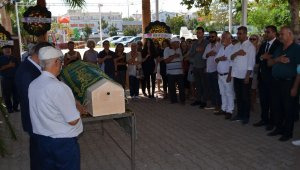 CHP İlçe Başkanının kayın validesi son yolculuğuna uğurlandı