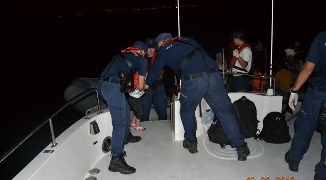 Kuşadası'nda 39 düzensiz göçmen yakalandı