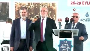Saadet PartisiGenel BaşkanıTemel Karamollaoğlu'na şok protesto..