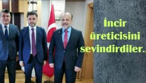 AYDIN AK PARTİ VEKİLLERİNDEN İNCİR ÜRETİCİSİNE MÜJDE..