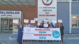 Karacasu'da Dünya Yürüyüş Günü Etkinliği düzenlendi