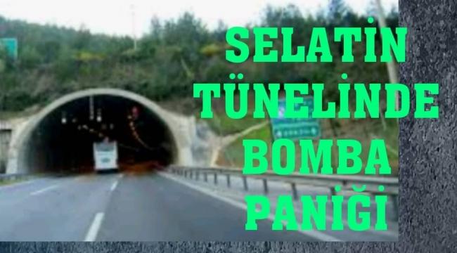 Selatin Tüneli bomba ihbarı nedeniyle kapatıldı...
