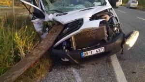Yenipazar'da gerçekleşen trafik kazasında 1 kişi öldü 1 kişi de yaralandı