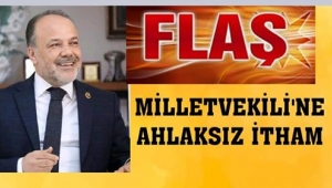 AK Parti Milletvekili Yavuz'a ahlaksız itham...