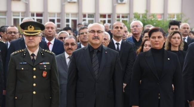 Atatürk, Aydın'da anıldı