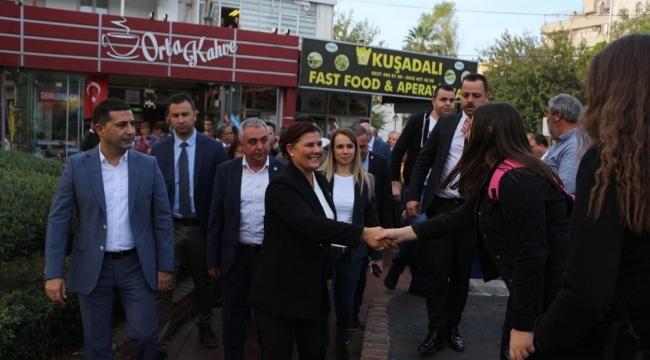 Aydın Büyükşehir Belediye Meclisi, Kuşadası'nda toplandı