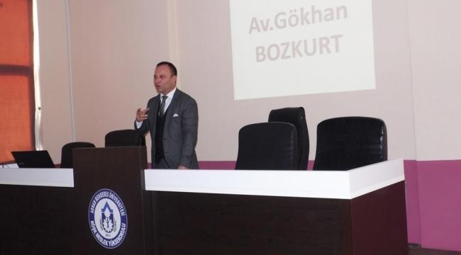 Köşk Meslek Yüksekoku'lunda 'Genel Hukuk' eğitimi