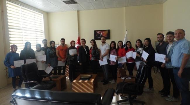 Köşk MYO Öğrencileri 'İş Hayatında İletişim' kursunu tamamladı